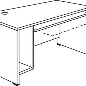 Stol za računalo – drveni RM-5