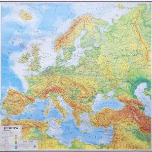 Europa, 1:3.000.000, 182X178 cm