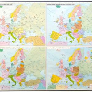 Europa u XX stoljeću, 168×130 cm