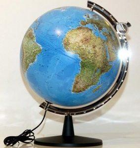 Globus fi 30cm – politički i fizički, model SOKOL