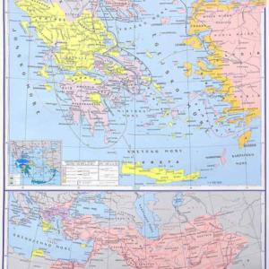 Grčka u starom vijeku, 87×115 cm
