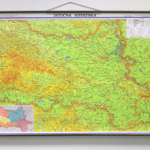 Istočna Hrvatska, 1:130.000, 140×100 cm