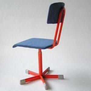 Vrtljiva stolica s naslonom tapecirana VS-2-T