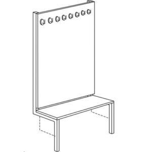 Garderoba zidna G4-Z