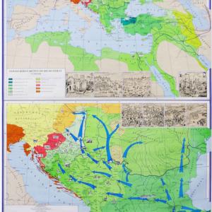 Razvoj turskog carstva, 115×150 cm