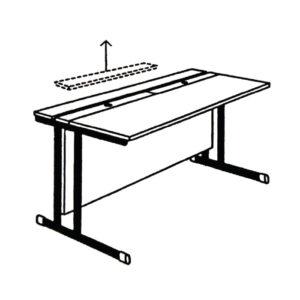Stol za računalo – podizni poklopac RM-4