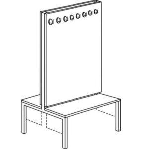 Garderoba samostojeća G4-P