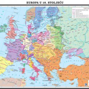 Europa u 18. stoljeću, 135×97 cm