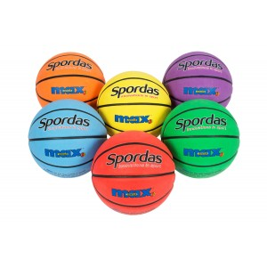 Košarkaška lopta Spordas Max Colored