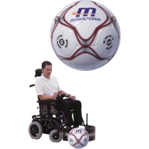 Nogometna lopta – invalidska kolica