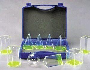 10 prozirnih tijela u kutiji