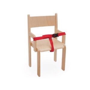 Dječji stolac sa zaštitnim remenom – visina sjedala 21-31 cm